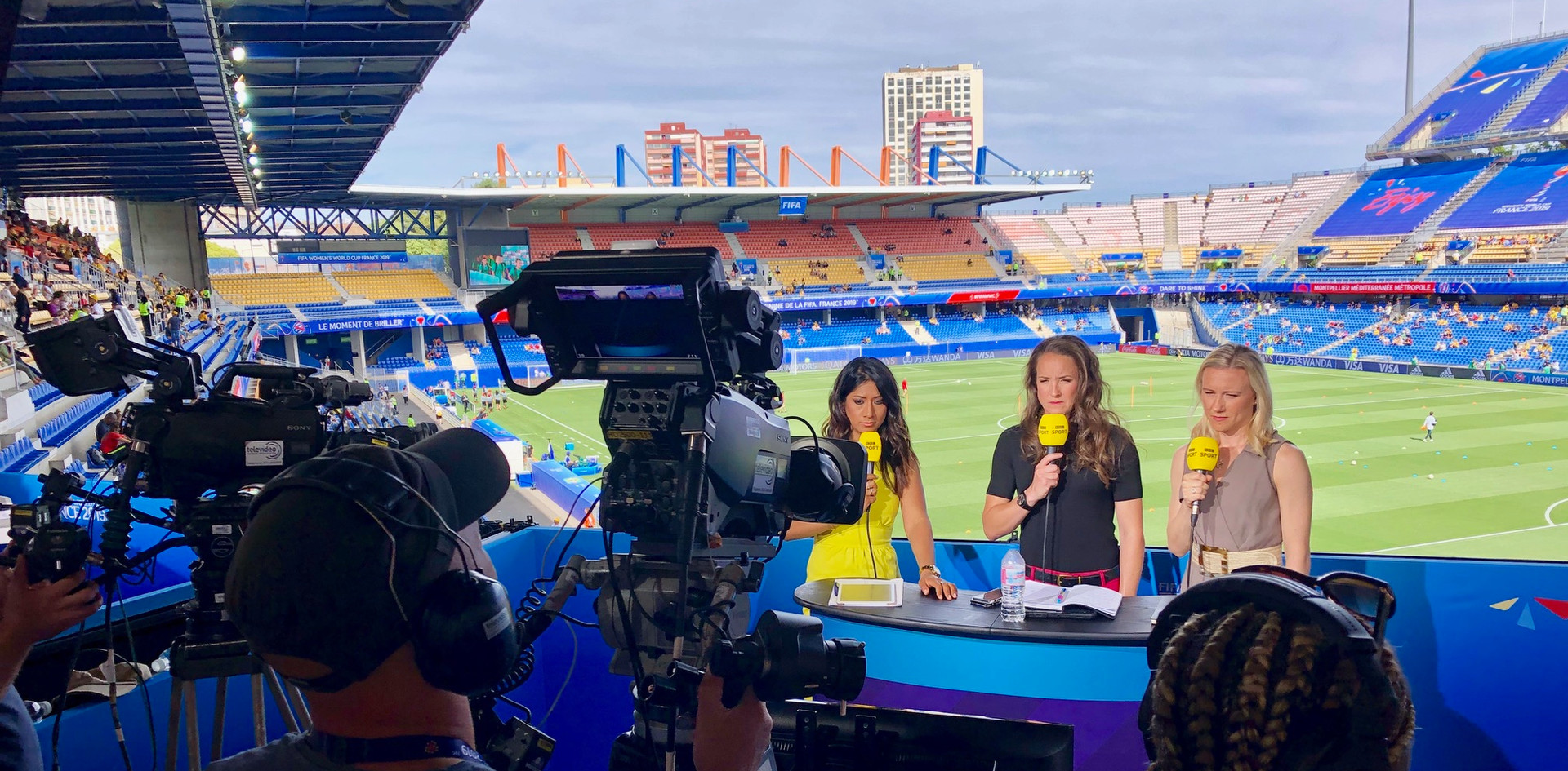 BBC studio FIFA Womens World Cup 2019