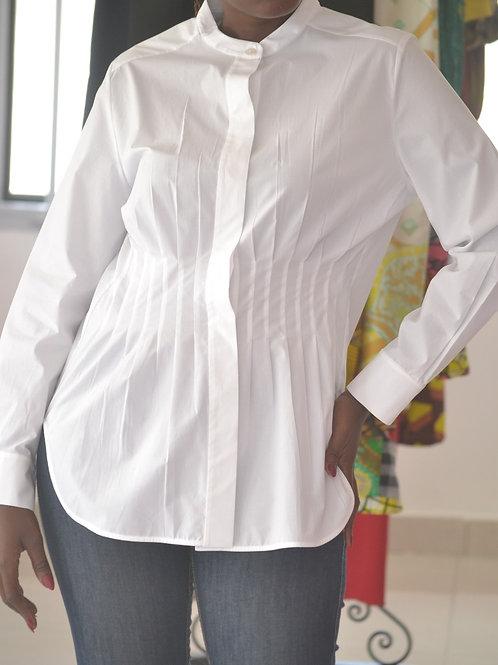 Chemise plissé