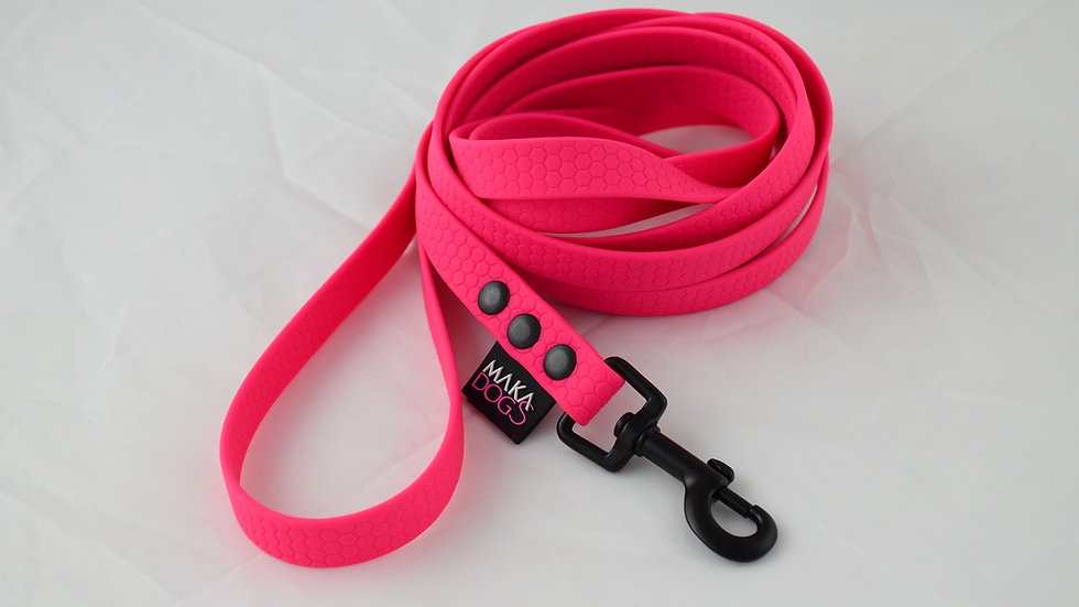 Smycz Hexa 16mm Neon pink