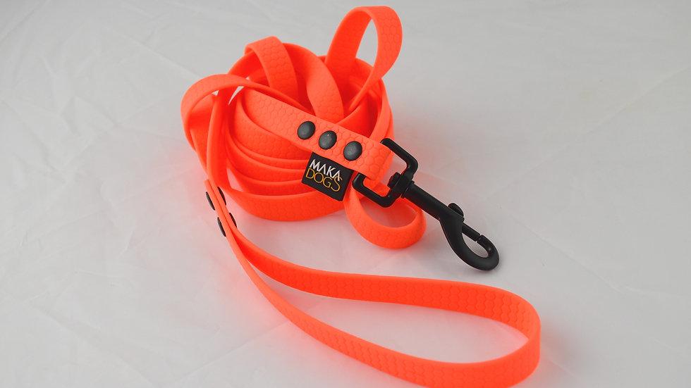 Smycz Hexa 16mm Neon Orange