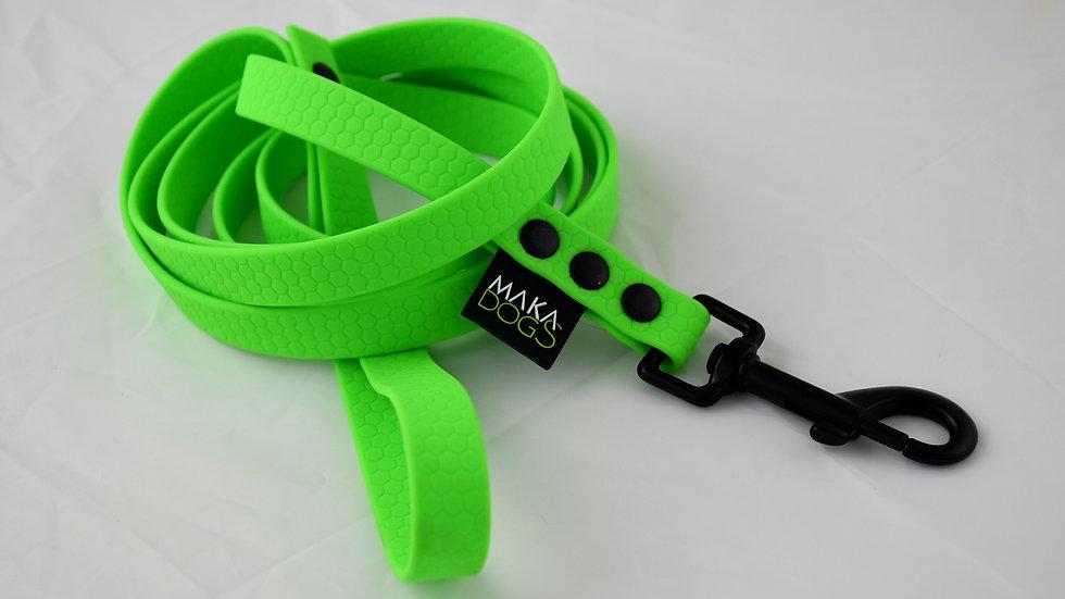 Smycz Hexa 16mm Neon Green