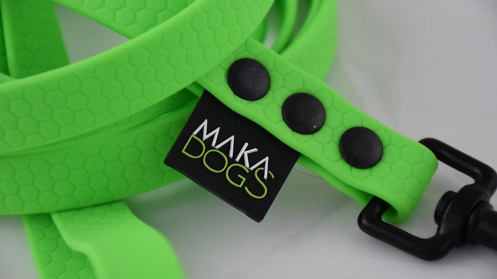 Smycz Hexa Neon Green 16mm SPORT