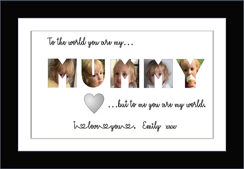 Personalised MUMMY photo gifts