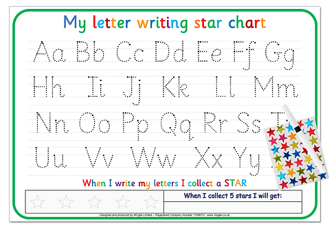 Letter / Alphabet Writing Board