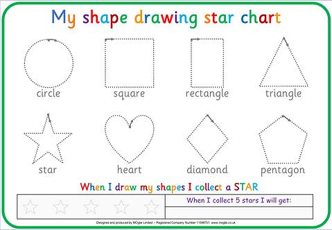 Shape Tracing Board