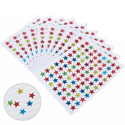 880 star stickers multi-colours