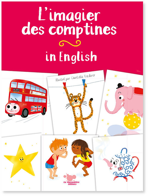 L'imagier des comptines in English