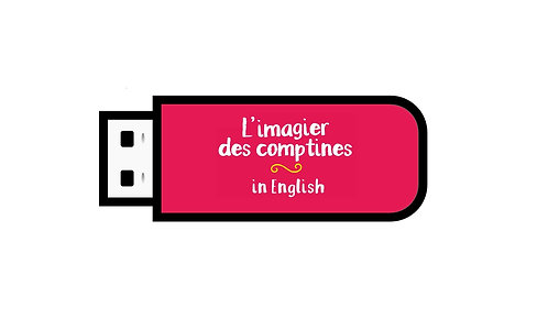 MP3 de L'imagier des comptines in English
