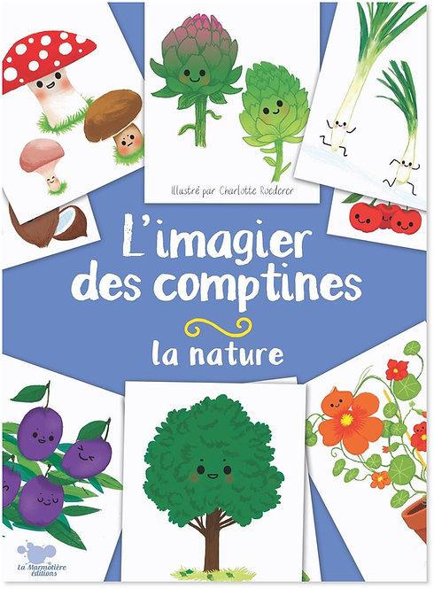 L'imagier des comptines - La nature