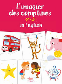 Imagier des comptines in English - La Marmotière éditions