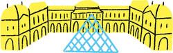 Le Louvre <br>et sa pyramide