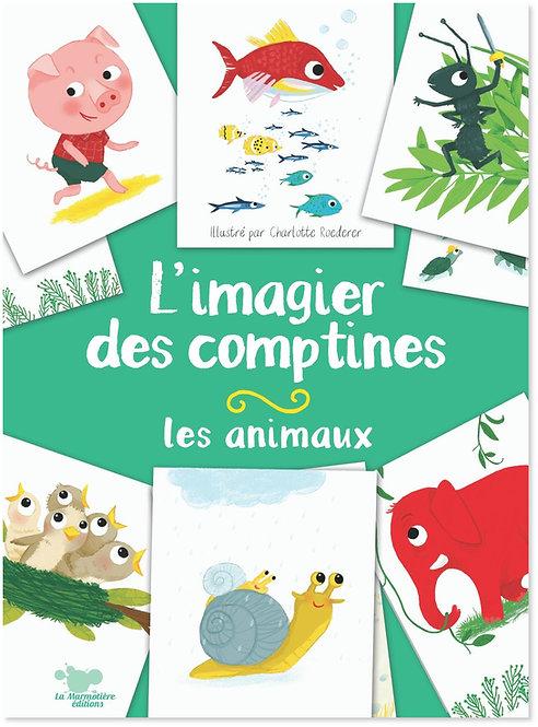 L'imagier des comptines - Les animaux