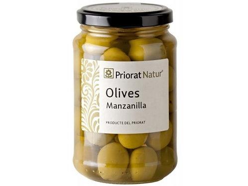 Manzanilla olijven ontpit