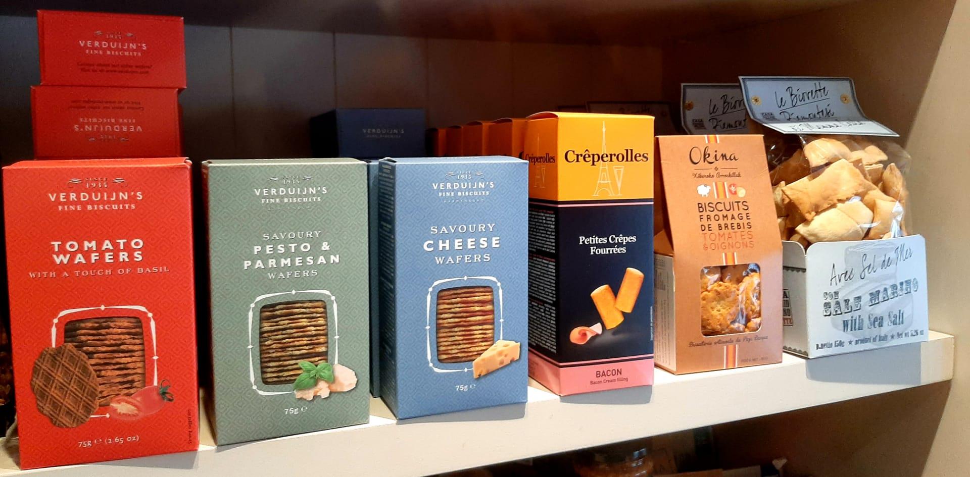 Aperitief koekjes