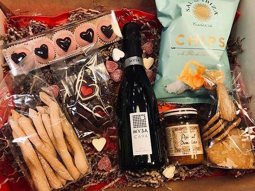 Apero box for Sweethearts