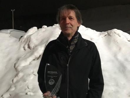 Berner Greenkeeper of the Year 2019-palkinto Ilkka Kutvoselle!