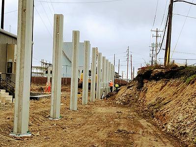 Substation Perimeter Wall