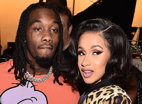 Cardi B files for a divorce from Offset for cheating 5 million times.