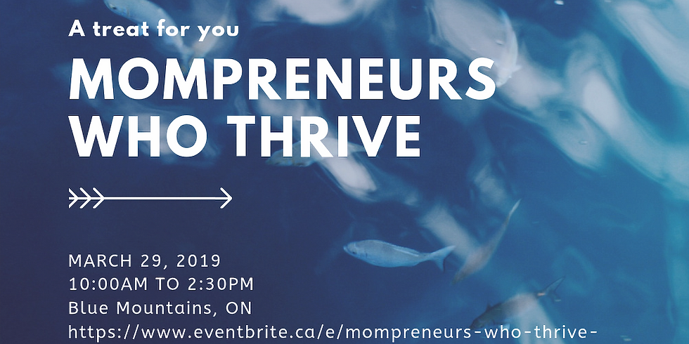 Mompreneurs Who Thrive - An un-networking event