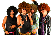 The Shagadelics 70's disco cover band weddings book hire band chicago