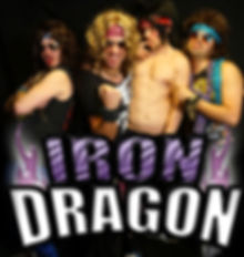 Iron Dragon 80's hair band