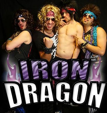 Iron Dragon 80's hair band