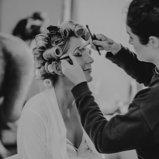 Wedding Morning Prep | Bridal Hair and Makeup Artist | Amanda White