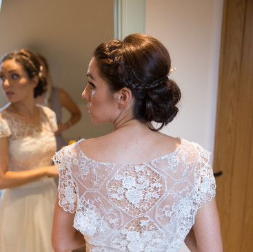 Hair Up Hairstyle Ideas | Bridal Hairstyling Team Amanda White Professionals.