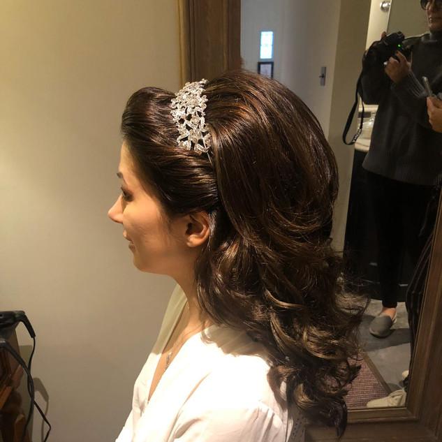 Bridal Up-style for your Wedding Day | Hertfordshire Wedding Hairstylist | Amanda White