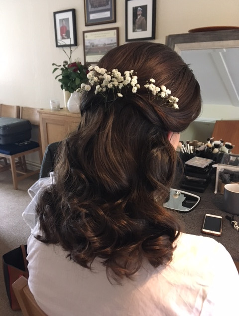 Wavy Wedding Hairstyle Options | Bridal Hairstyling by Amanda White and Team.