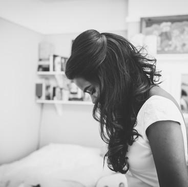 Gorgeous Wavy Wedding Hair | London Hairstylist Team| Amanda White