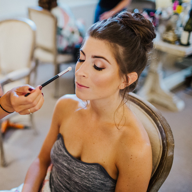 Professional Makeup Application by Amanda White and Team| Surrey based Professional Hair and Makeup Artists.