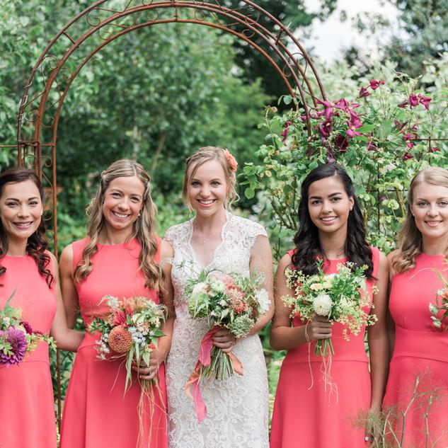 Bridal Party Hair Bookings | Bridesmaids hairstyling by Amanda White