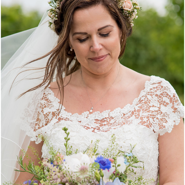 Relaxed Wedding Hair-Up Ideas | Bridal Hair and Makeup by Amanda White and Team.