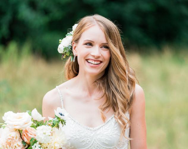 Garden Wedding Makeup | Professional Makeup Artist Team| Amanda White