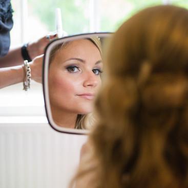 Striking Wedding Makeup | Beautiful makeup by Amanda White