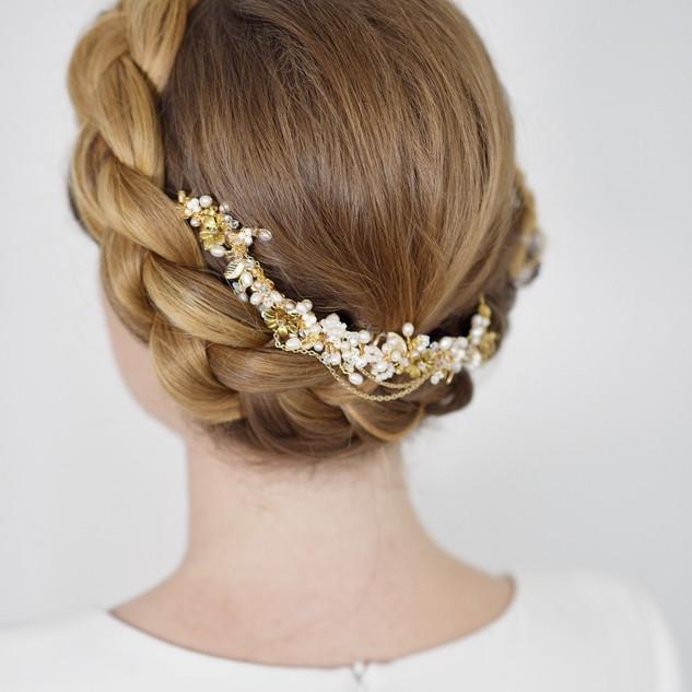 Halo Braided Wedding Hairstyles | Surrey Wedding Ideas | Amanda White