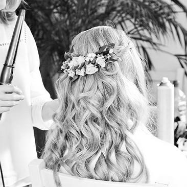 Stylish Wedding Hairstyling at Amanda White Hair and Makeup Professionals
