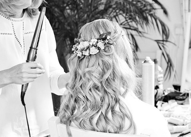 Stylish Wedding Hairstyling at Amanda White Hair and Makeup Professionals