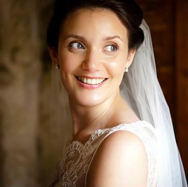 Natural Glowing Bridal Makeup | Amanda White