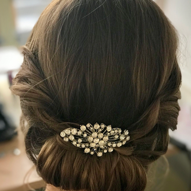 Low Key Hairstyles For Your Wedding | Bridal Hairstyles| Amanda White