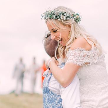 Tipi Wedding Hair and Makeup | Amanda White