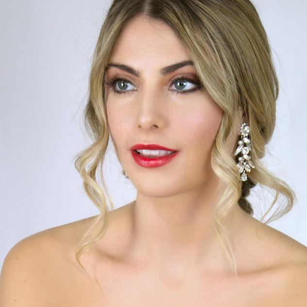 Glamourous Boho Bridal Hair and Makeup | London Wedding Makeup Artist | Amanda White