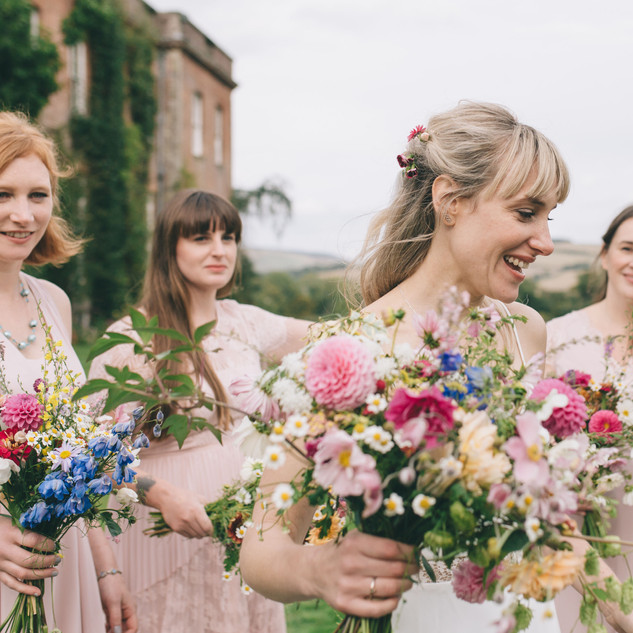 Meadow Wedding Inspiration | Hair and Makeup Services by Amanda White and Team.
