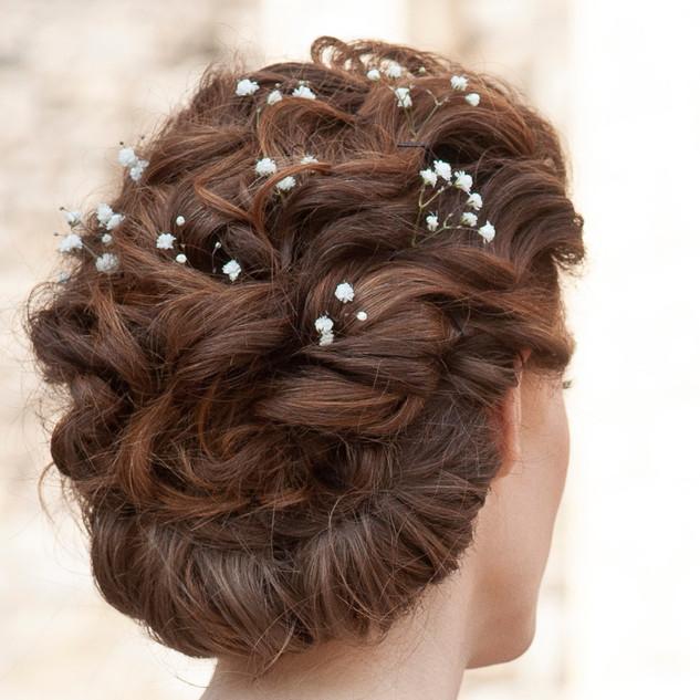 Bridal Up-style for your Wedding Day | Surrey Wedding Hairstylist | Amanda White