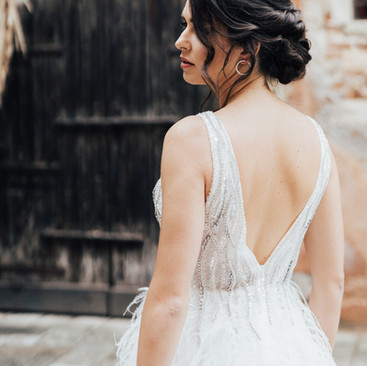 Venician Wedding Hair and Makeup | Amanda White Hair and Makeup Professionals.
