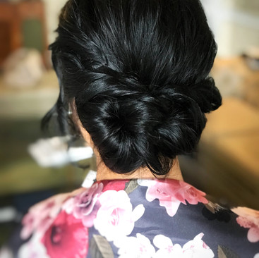 Modern Hair Up Ideas For Your Wedding | Professional Hairstylist Amanda White