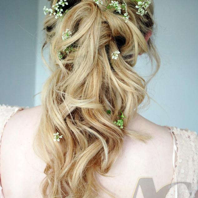 Twisted Wedding Hair | Bridal Hairstyle Ideas | Amanda White