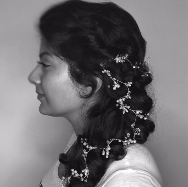 Wedding Hair down Hairstyles | London Hairstylist | Amanda White