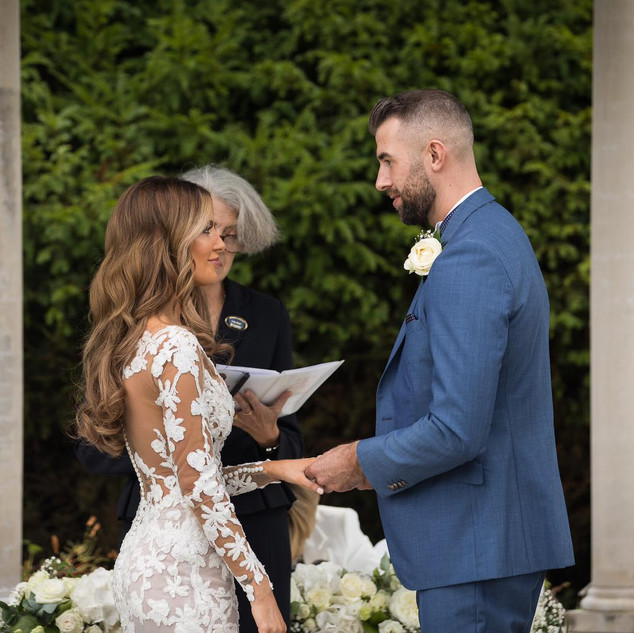 Gorgeous Wavy Wedding Hair | Kent Hairstylist Team| Amanda White